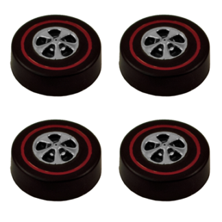 Hong Kong Cap Wheels Large – Bright Chrome