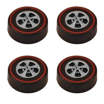 Hong Kong Cap Wheels Medium – Bright Chrome