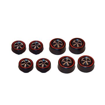 brightvision deep dish wheels redlines
