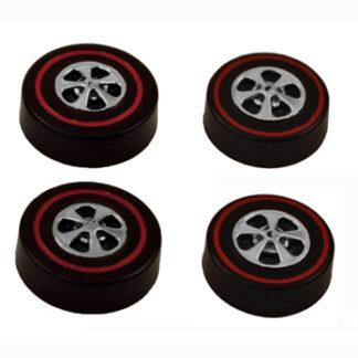 Brightvision Cap wheels redlines